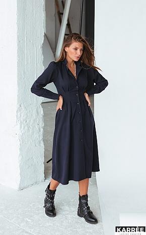 Платье Вендета, Темно-синий - фото 1