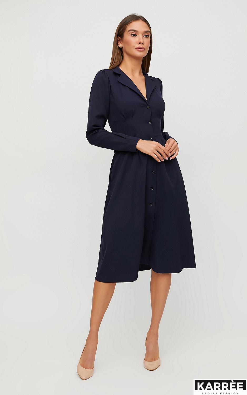 Платье Вендета, Темно-синий - фото 2
