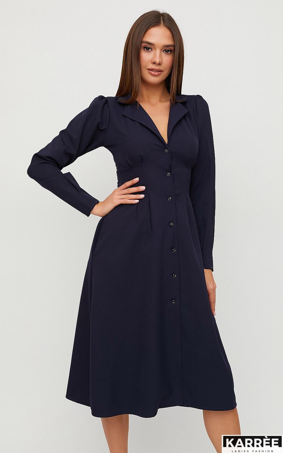 Платье Вендета, Темно-синий - фото 3