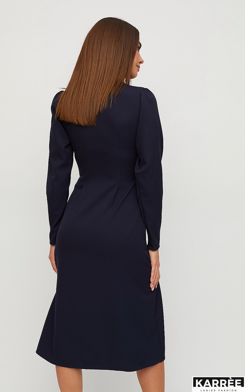 Платье Вендета, Темно-синий - фото 4