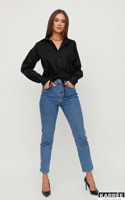 Рубашка Лиэль, Черный - фото 5
