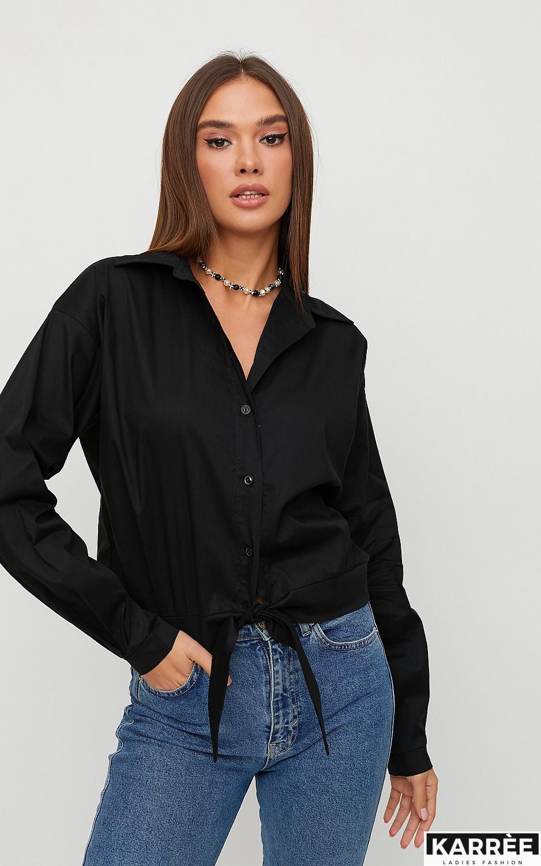 Рубашка Лиэль, Черный - фото 3