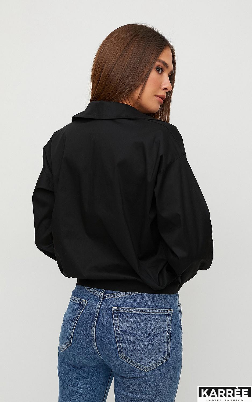 Рубашка Лиэль, Черный - фото 4