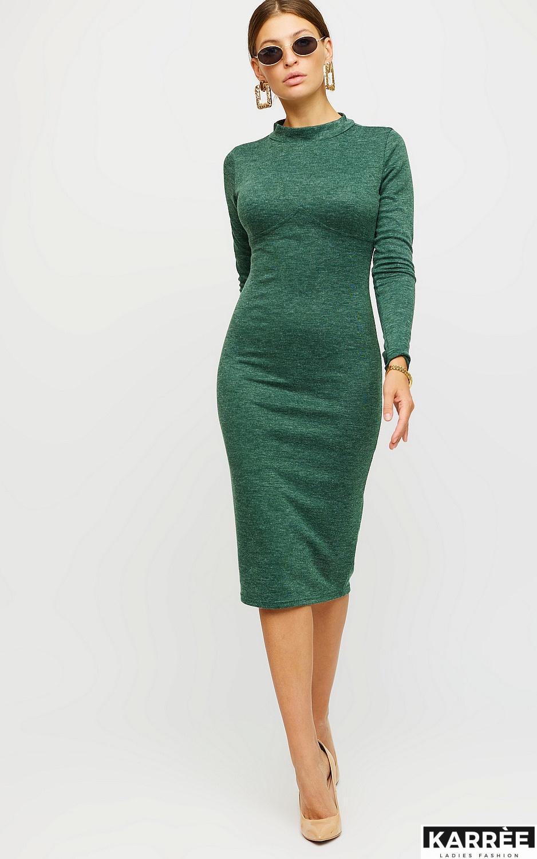 Платье Лацио, Темно-зеленый - фото 3