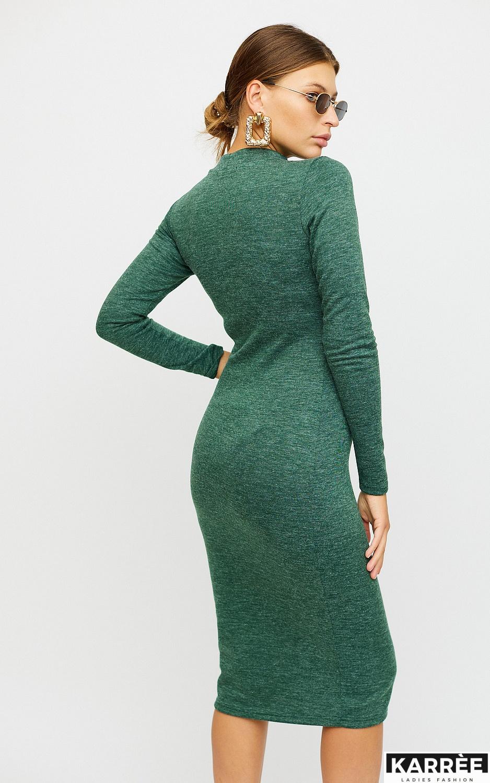 Платье Лацио, Темно-зеленый - фото 2