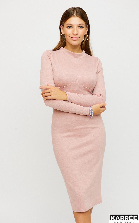 Платье Лацио, Пудровый - фото 2