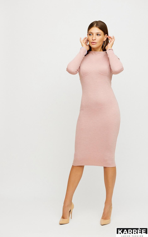 Платье Лацио, Пудровый - фото 1