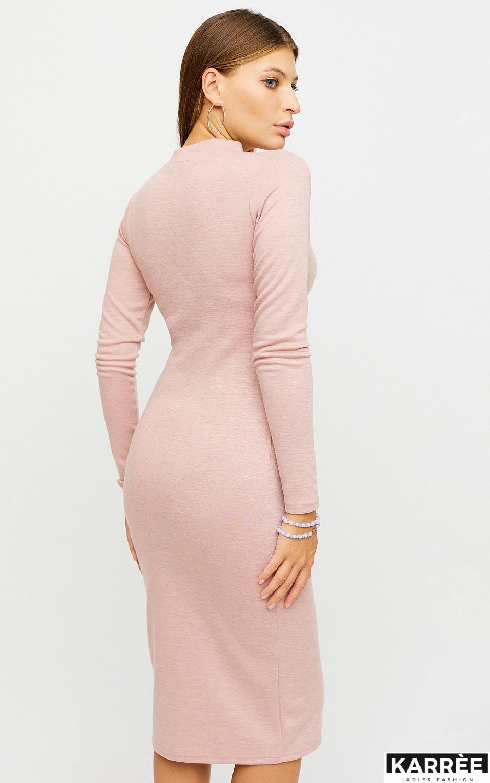 Платье Лацио, Пудровый - фото 3