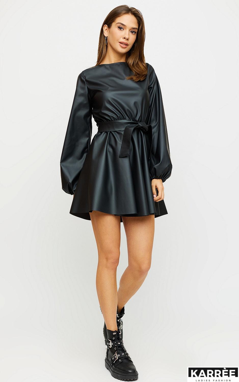 Платье Беверли, Черный - фото 3