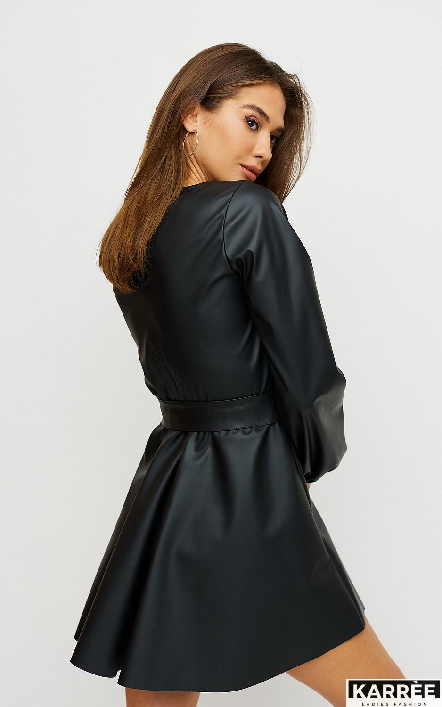Платье Беверли, Черный - фото 2