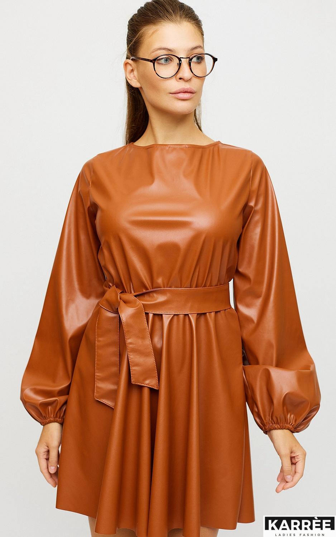 Платье Беверли, Рыжий - фото 2