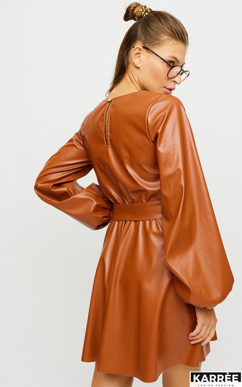 Платье Беверли, Рыжий - фото 3