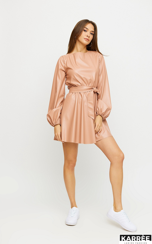Платье Беверли, Пудровый - фото 4