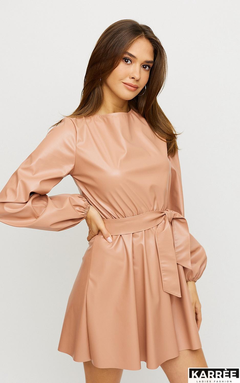 Платье Беверли, Пудровый - фото 3