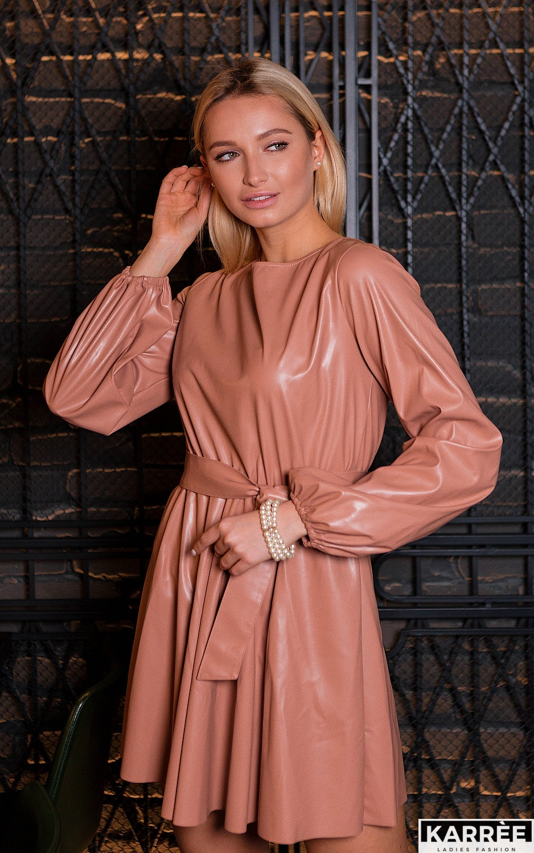 Платье Беверли, Пудровый - фото 2
