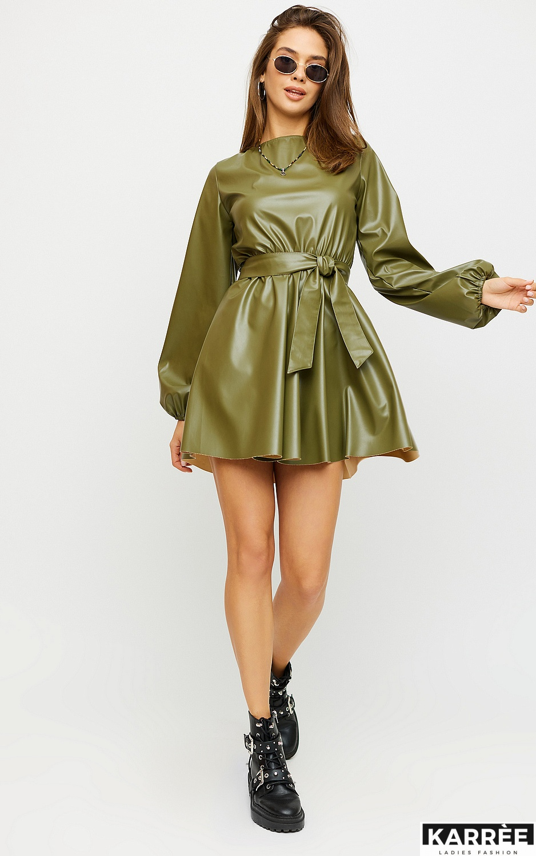 Платье Беверли, Хаки - фото 3