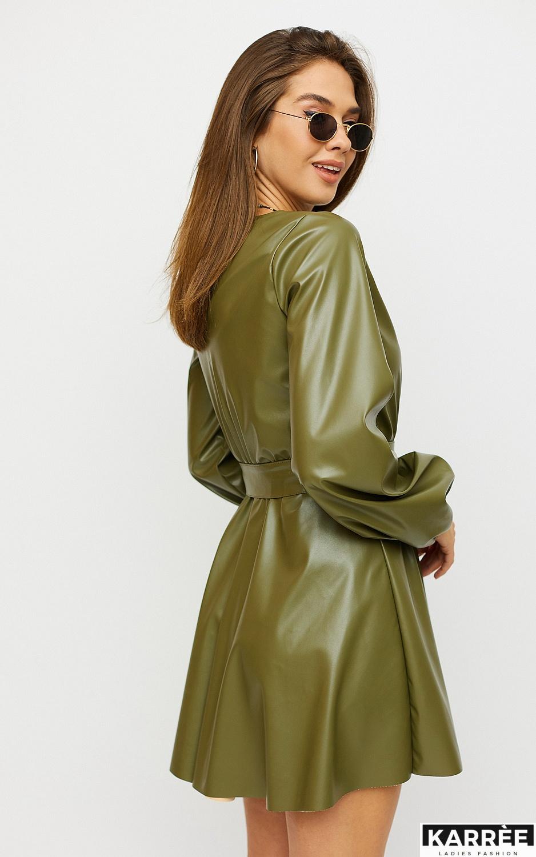 Платье Беверли, Хаки - фото 2