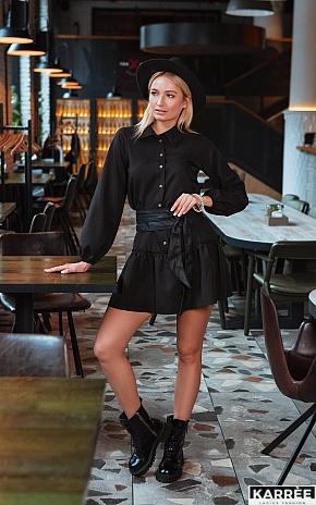 Платье Касио, Черный - фото 1