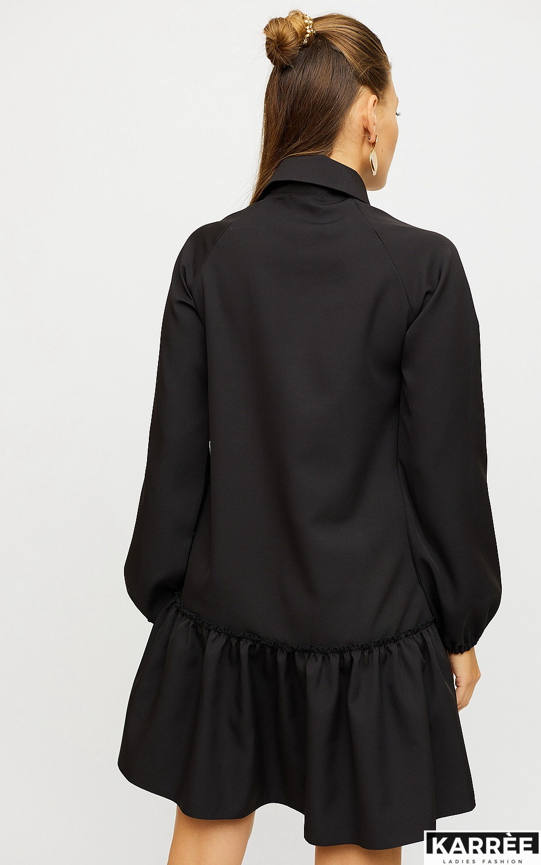 Платье Касио, Черный - фото 3