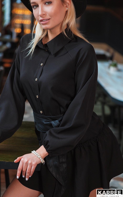 Платье Касио, Черный - фото 2