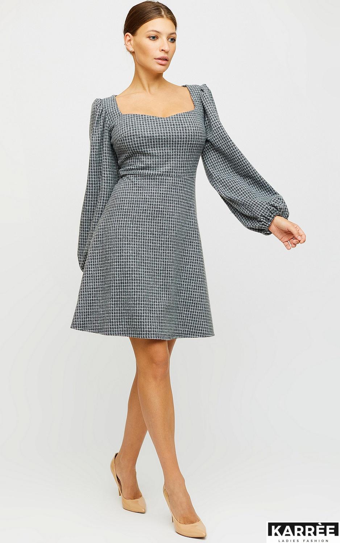 Платье Карли, Светло-серый - фото 5