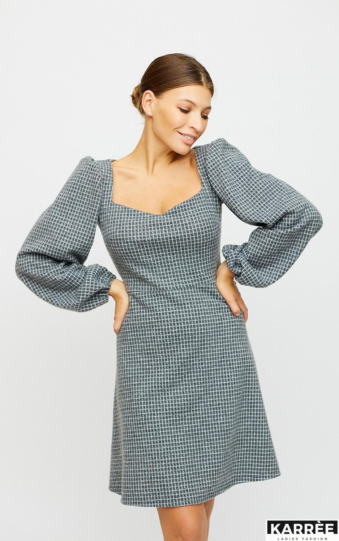 Платье Карли, Светло-серый - фото 3