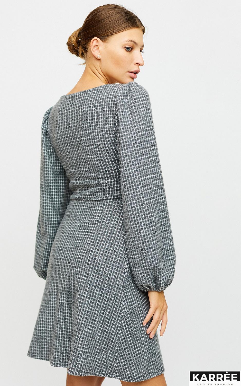 Платье Карли, Светло-серый - фото 4