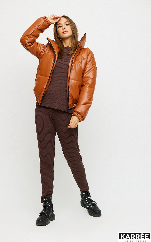 Куртка Анита, Рыжий - фото 3