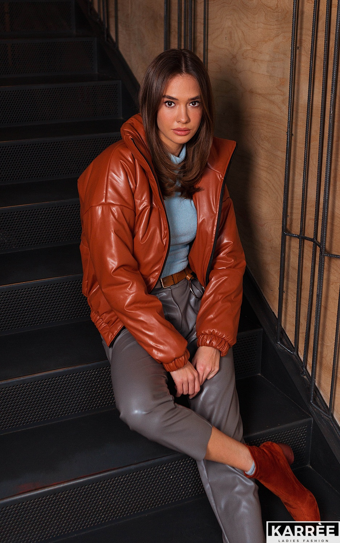 Куртка Анита, Рыжий - фото 2