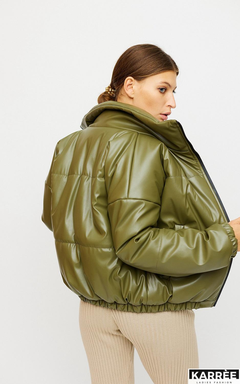Куртка Анита, Хаки - фото 3