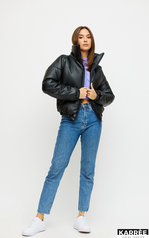 Куртка Анита, Черный - фото 4