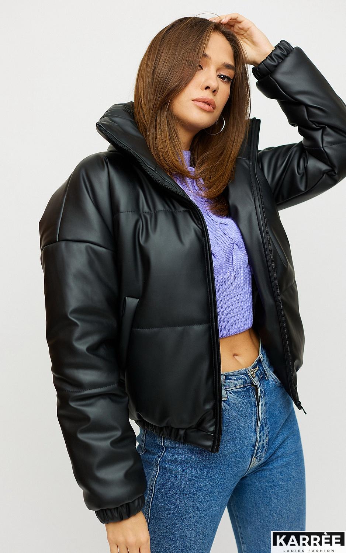 Куртка Анита, Черный - фото 2