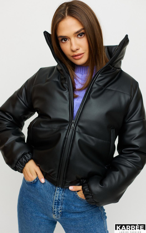 Куртка Анита, Черный - фото 5