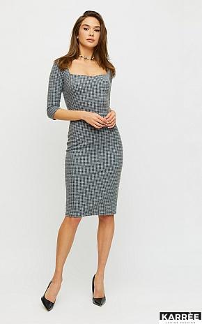 Платье Франческа, Светло-серый - фото 1