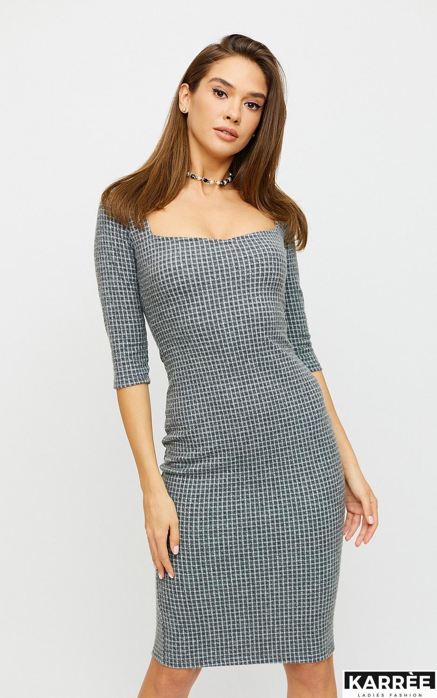 Платье Франческа, Светло-серый - фото 2