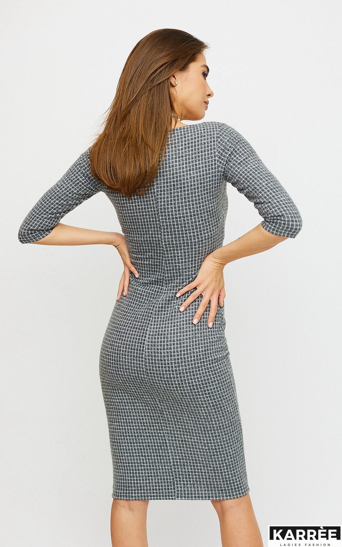 Платье Франческа, Светло-серый - фото 3