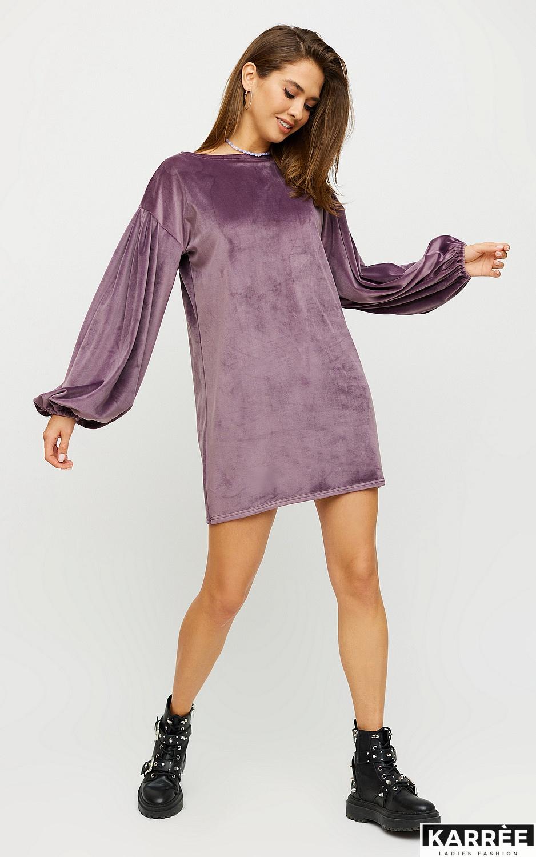 Платье Нидия, Фиолетовый - фото 3