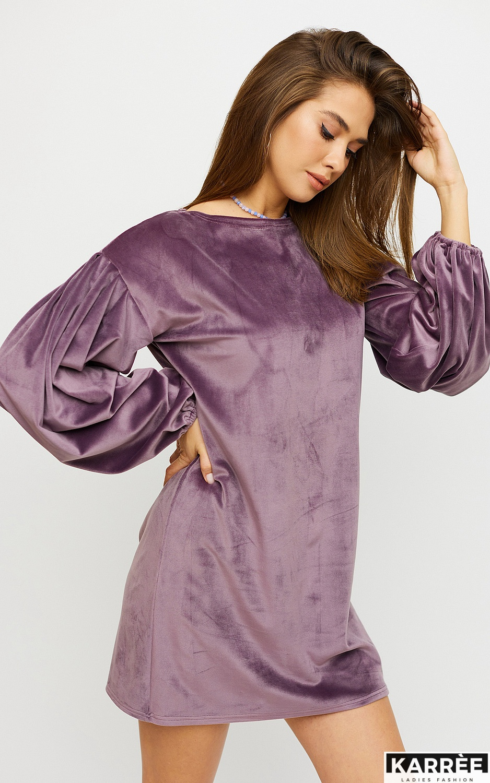 Платье Нидия, Фиолетовый - фото 4