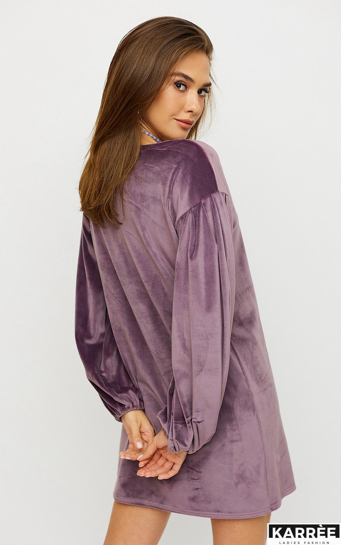 Платье Нидия, Фиолетовый - фото 5