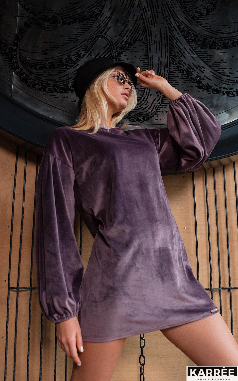 Платье Нидия, Фиолетовый - фото 2