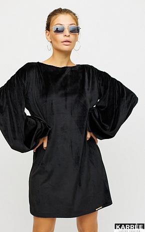 Платье Нидия, Черный - фото 1