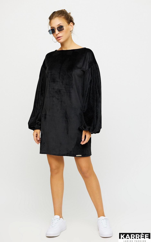 Платье Нидия, Черный - фото 3