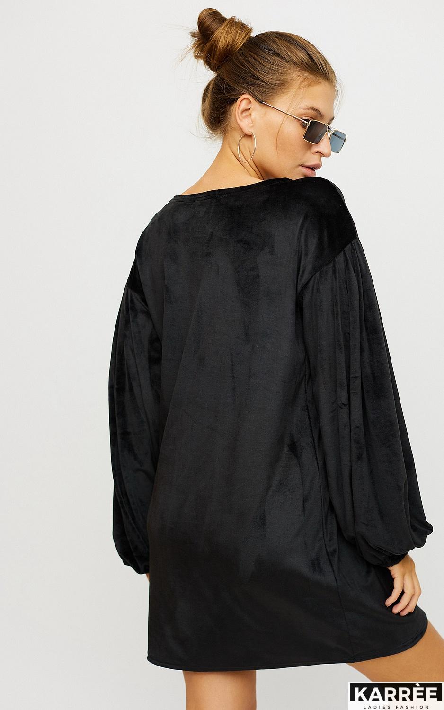 Платье Нидия, Черный - фото 2