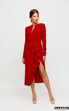 Платье Кармен, Красный - фото 1