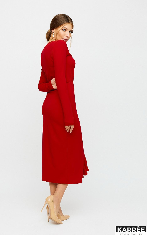 Платье Кармен, Красный - фото 3