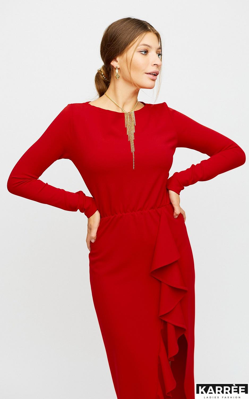 Платье Кармен, Красный - фото 2