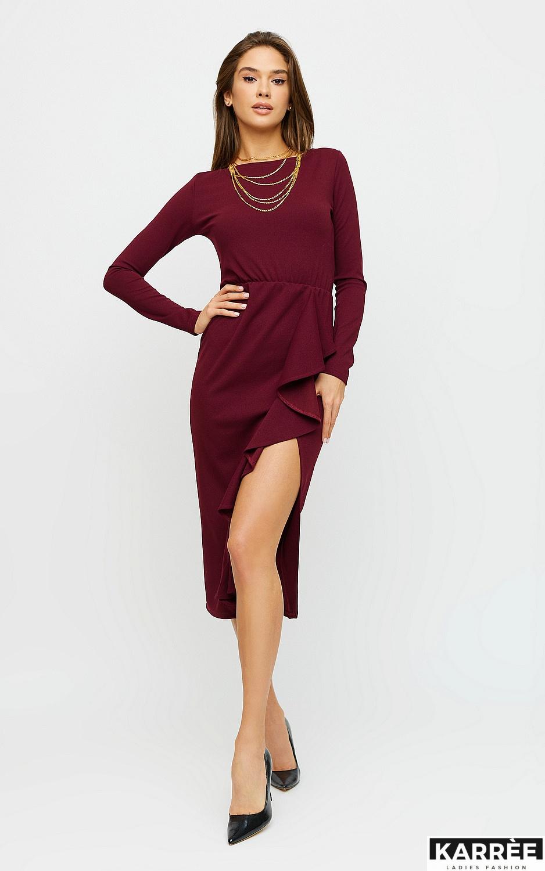 Платье Кармен, Марсала - фото 2