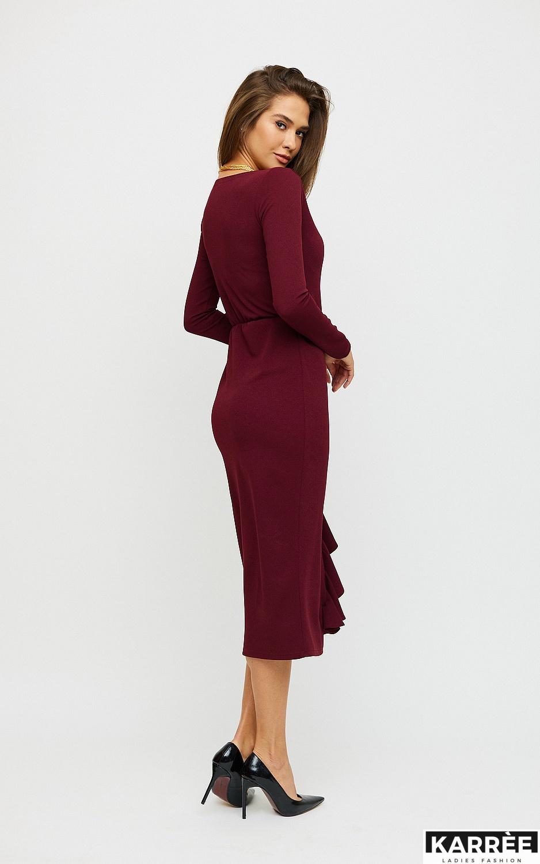 Платье Кармен, Марсала - фото 3