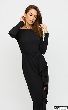 Платье Кармен, Черный - фото 1
