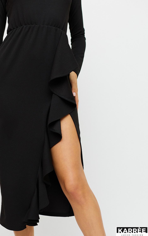 Платье Кармен, Черный - фото 2